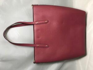 [COACH] トートバッグの猫爪傷修理