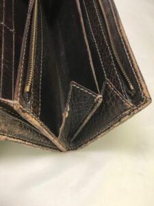 [GUCCI] 財布のマチ修理