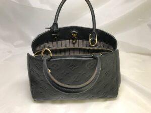 [Louis Vuitton]  ルイヴィトンバッグのコバ再生と補色